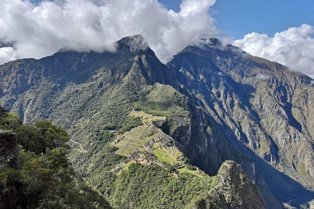 Vista de Machu Picchu desde la Montaña Huayna Picchu