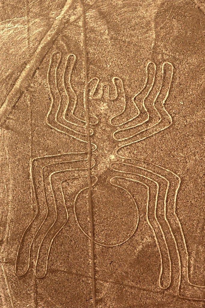 Arañan, líneas de nazca, qué ver en Perú