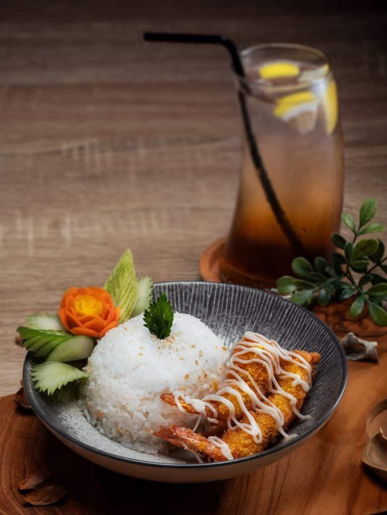 Arroz con temmpura, comidas de Japón