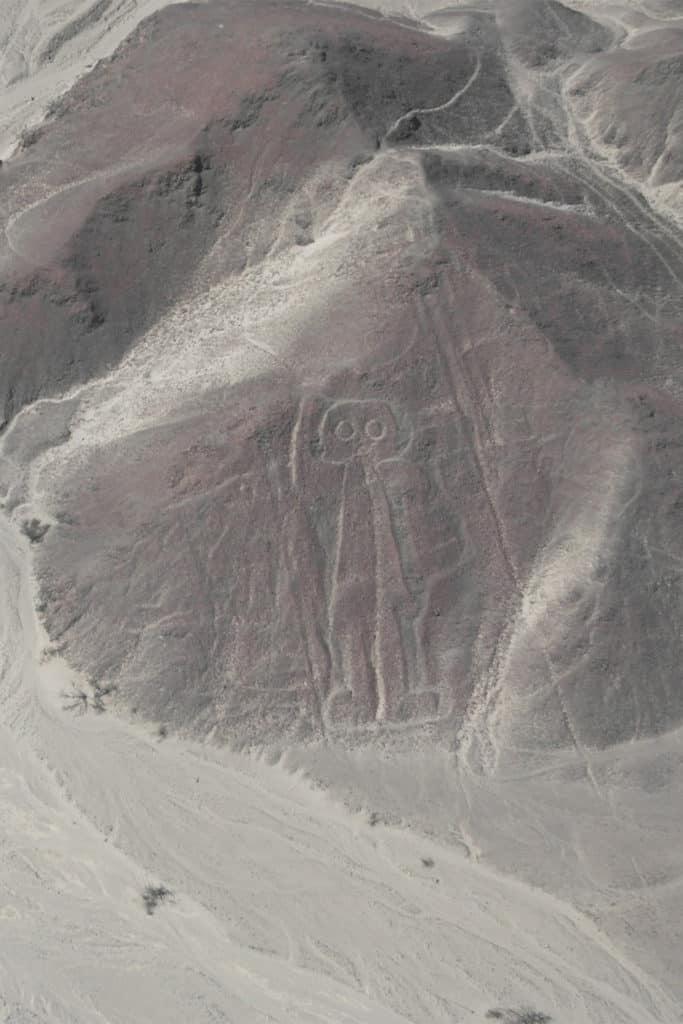 Astronauta, líneas de Nazca, qué ver en Perú