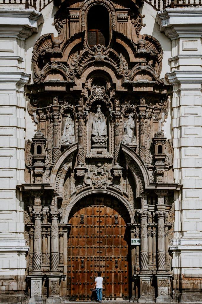 Basílica de San Francisco de Asís en Lima, que ver en Perú