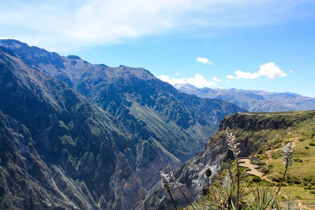 Cañon del Colca en Arequipa, que ver enPerú