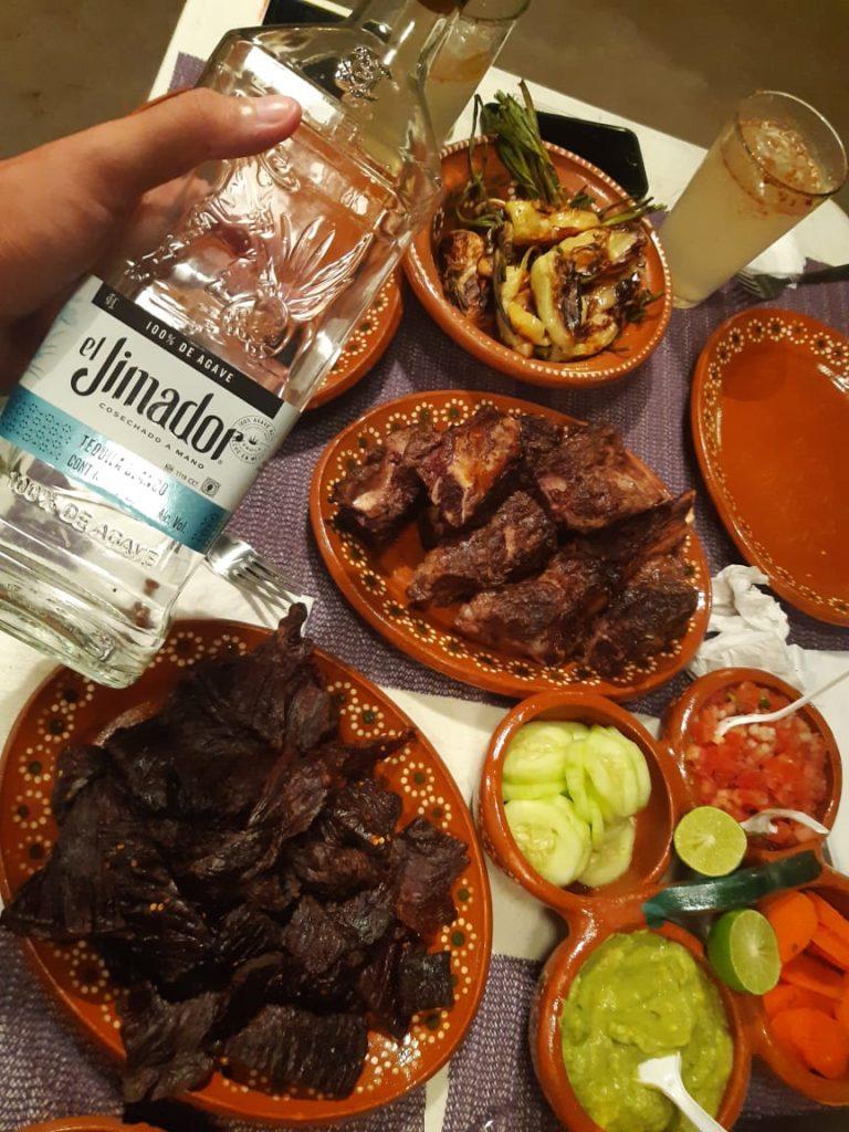 Degustando el tequila mexicano