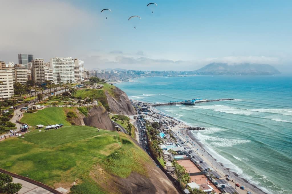 Costa Verde en Miraflores, Lima, qué ver en Perú