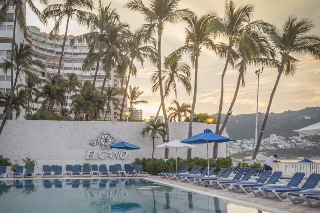 Hotel Elcano en Acapulco, México