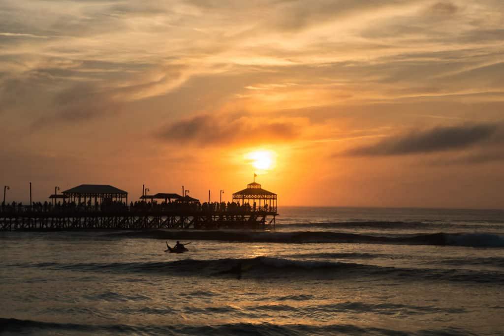Playa de Huanchaco en Trujillo, qué ver en Perú