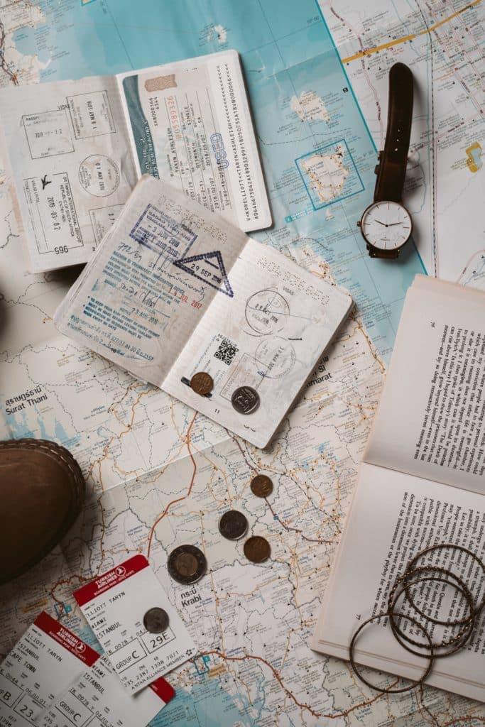 Documentación y complementos para viaje a Turquía