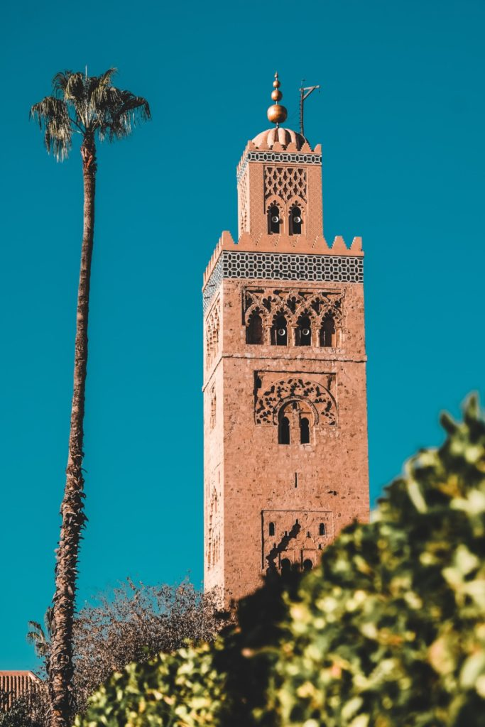 Mezquita de Kutobia, Marrakech.