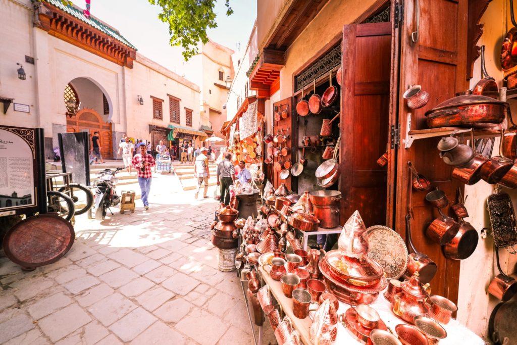 La orfebrería es tradicional de Marruecos