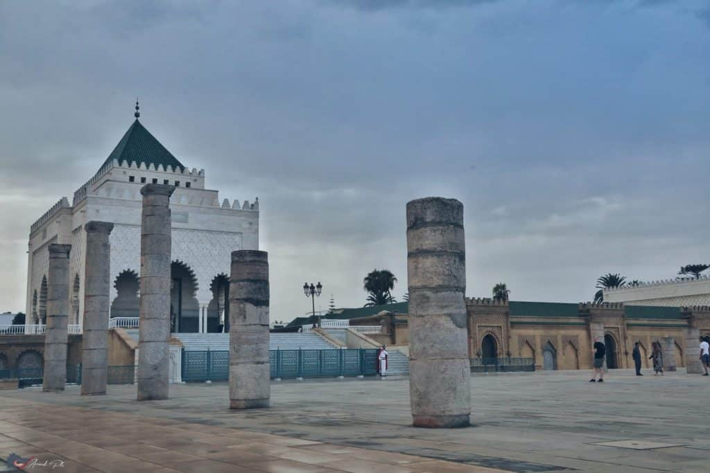 Mausoleo de Mohamed. Rabat