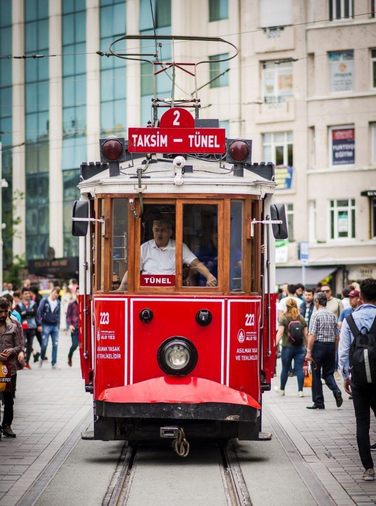 Tranvía en Turquía