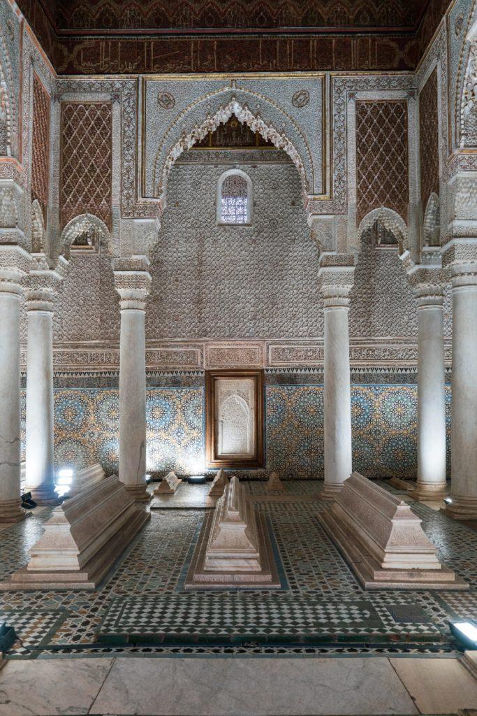 Tumbas Saadies, Marrakech.