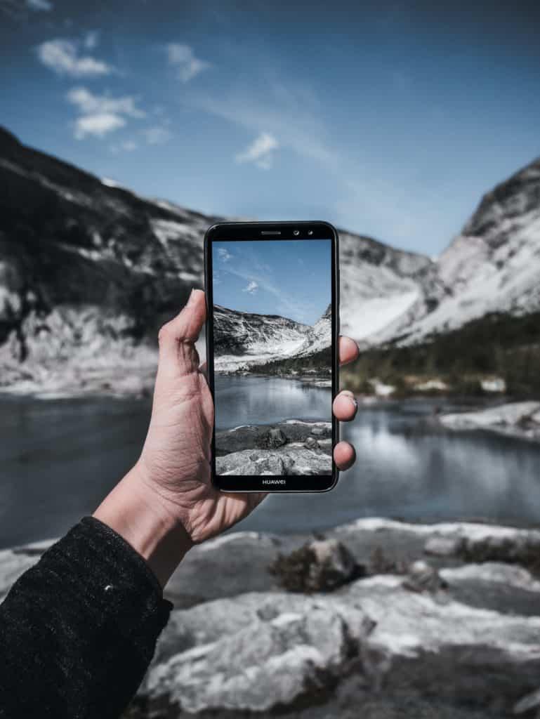 fotografía de glaciares en suiza y utilizar el gps