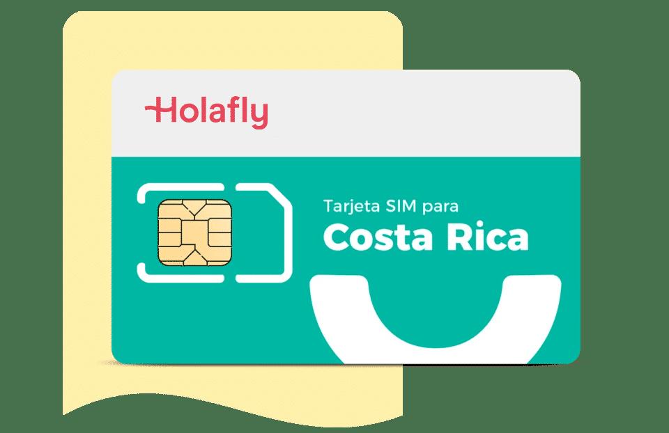 Tarjeta SIM de datos para Costa Rica de Holafly, datos móviles, internet