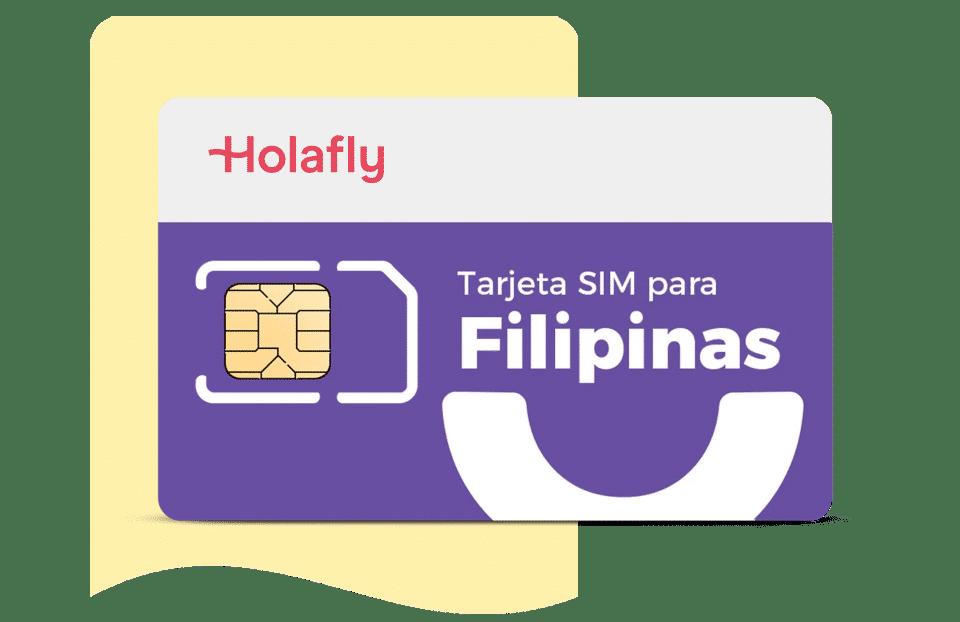 Tarjeta SIM Holafly para Filipinas
