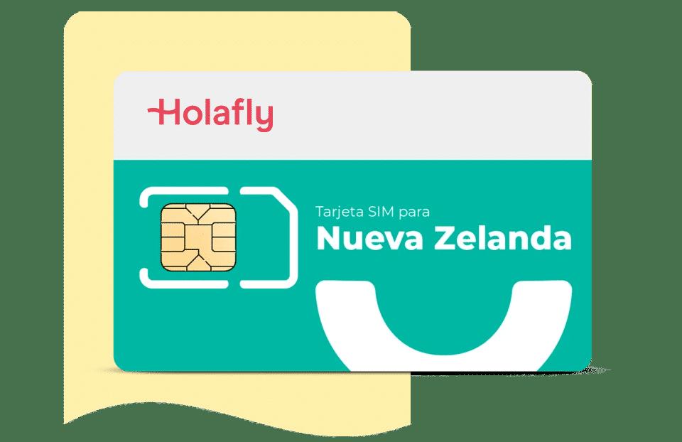 tarjeta sim datos nueva zelanda de Holalfy