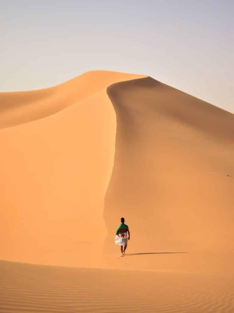 Visita el desierto del Sahara desde Argelia