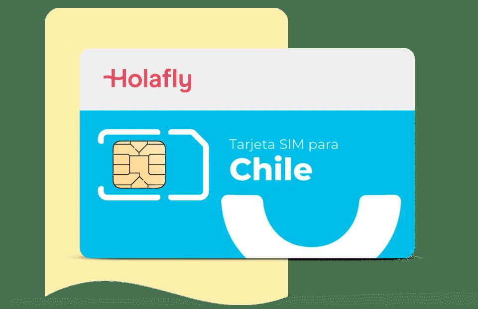 tarjeta sim datos chile de Holalfy