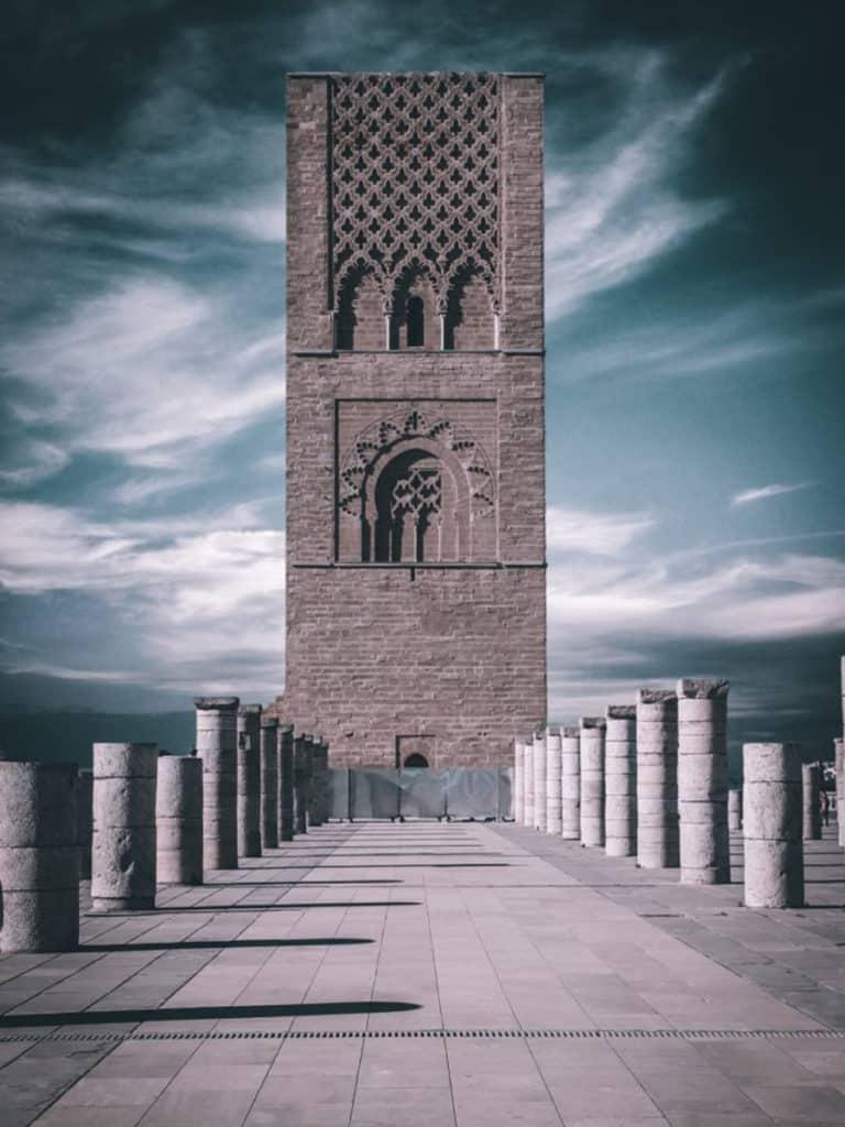 La Torre Hassan, Rabat, ciudades de Marruecos