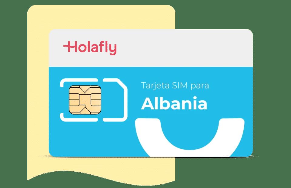 tarjeta sim de datos Albania de Holafly