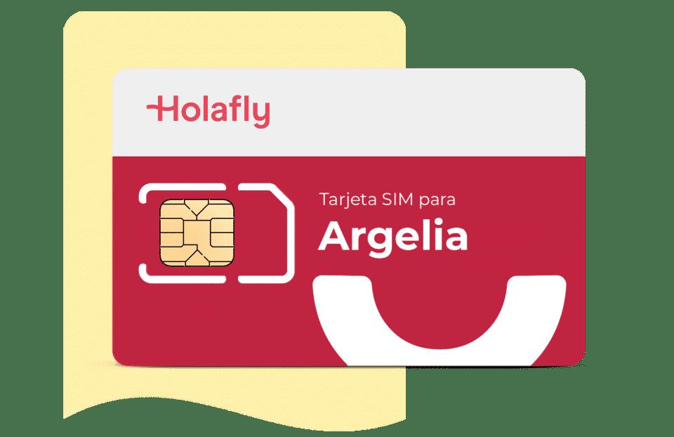 tarjeta sim de datos Argelia de Holafly