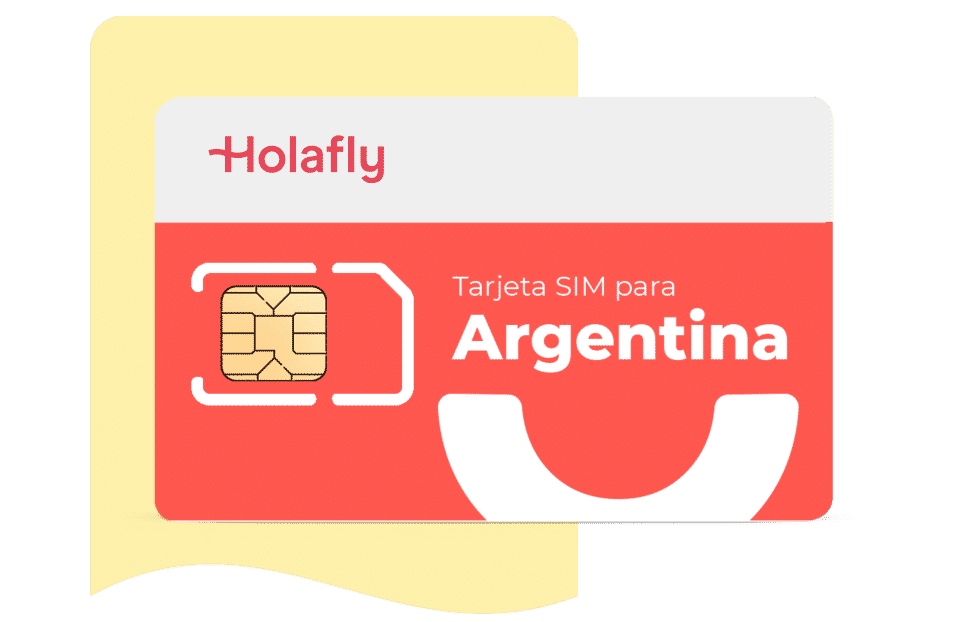 tarjeta sim de datos Argentina de Holafly