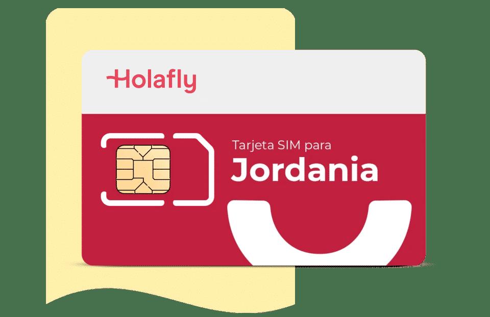 tarjeta sim de datos Jordania de Holafly
