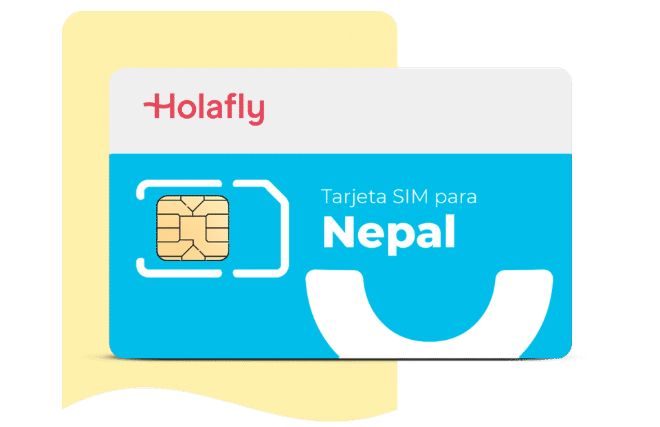 tarjeta sim de datos Nepal de Holafly