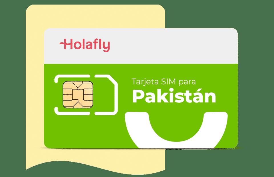 tarjeta sim de datos Pakistán de Holafly