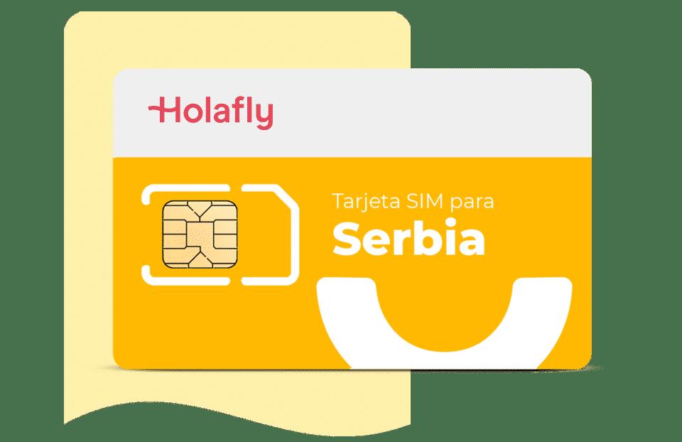 tarjeta sim de datos Serbia de Holafly