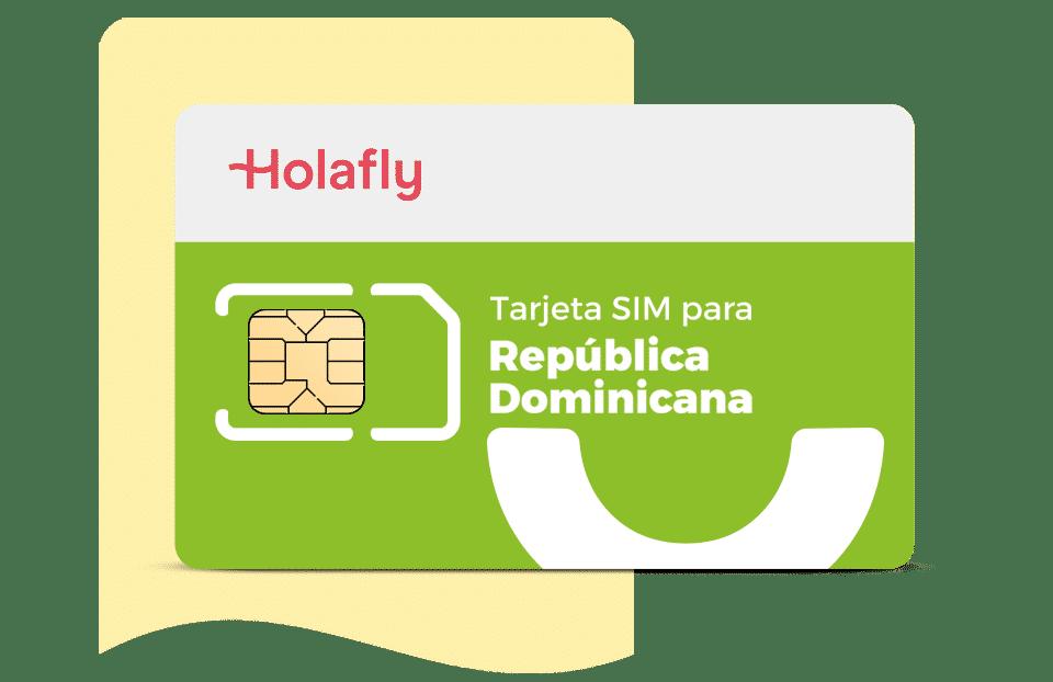 tarjeta sim de datos República Dominicana de Holafly, datos internet