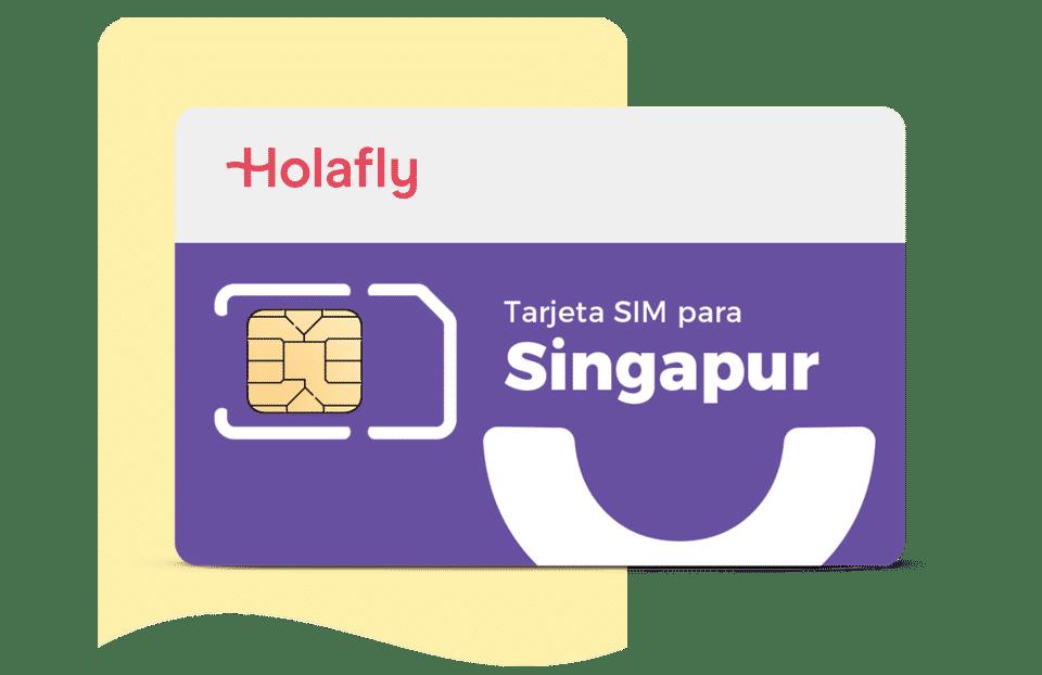tarjeta sim de datos Singapur de Holafly