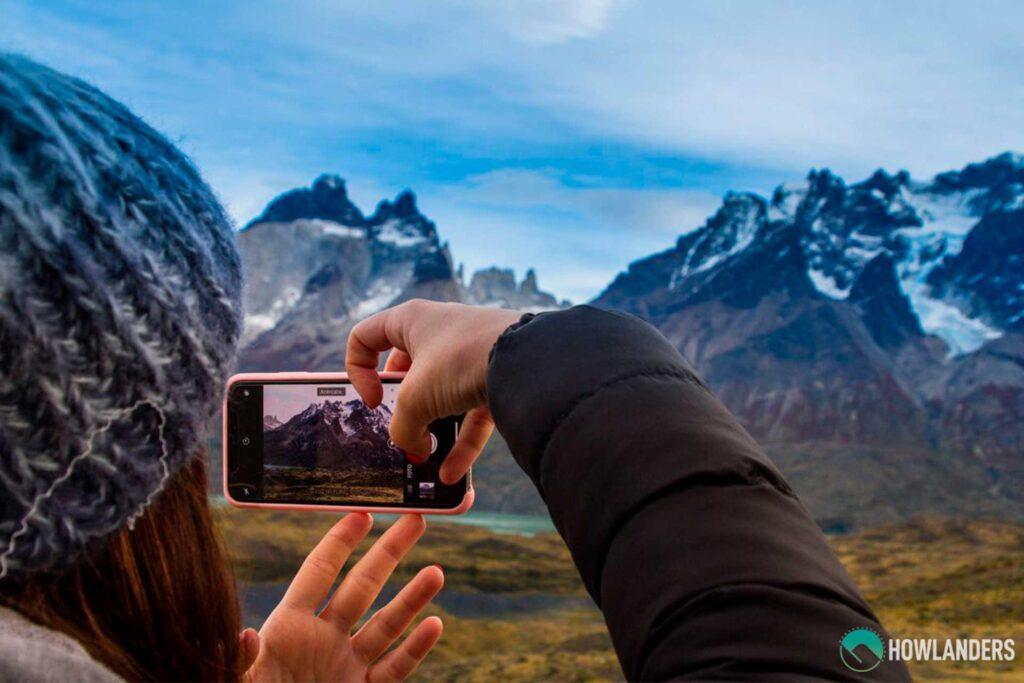 w trek, torres del paine, howlanders, ruta, tours, chile, patagonia, viajera, conexión a internet, datos móviles