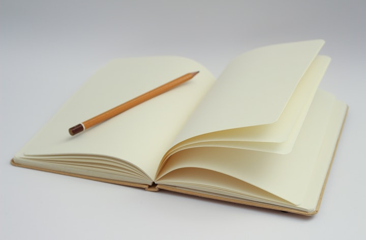 Notizblock und Stifte sind immer wichtig.