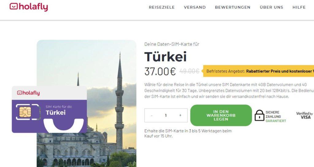 Holafly Türkei Leitfaden