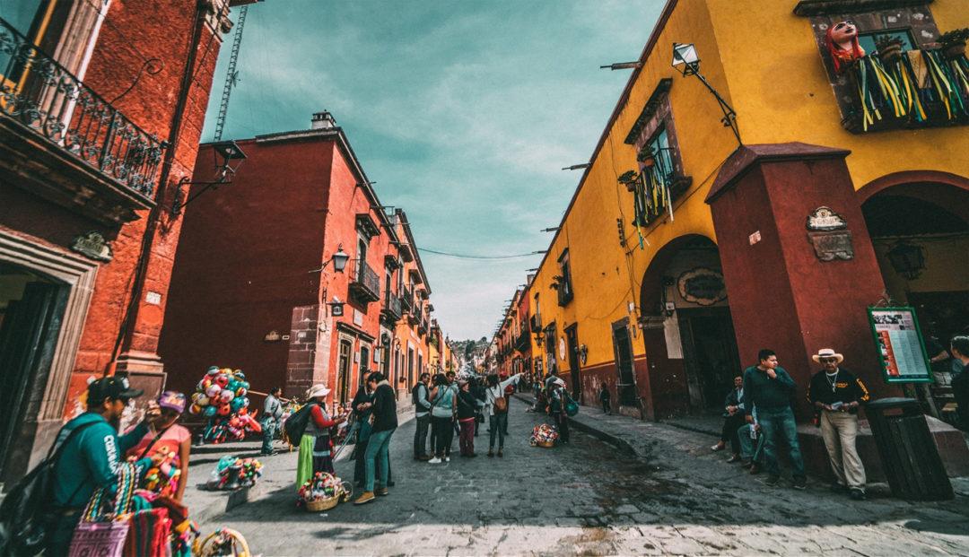 Roaming in Mexiko