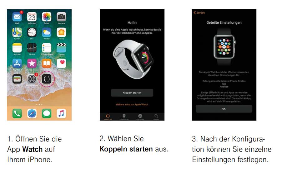 eSIM für Apple Watch