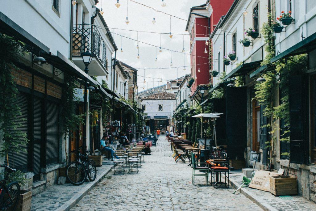 Strasse in Albanien