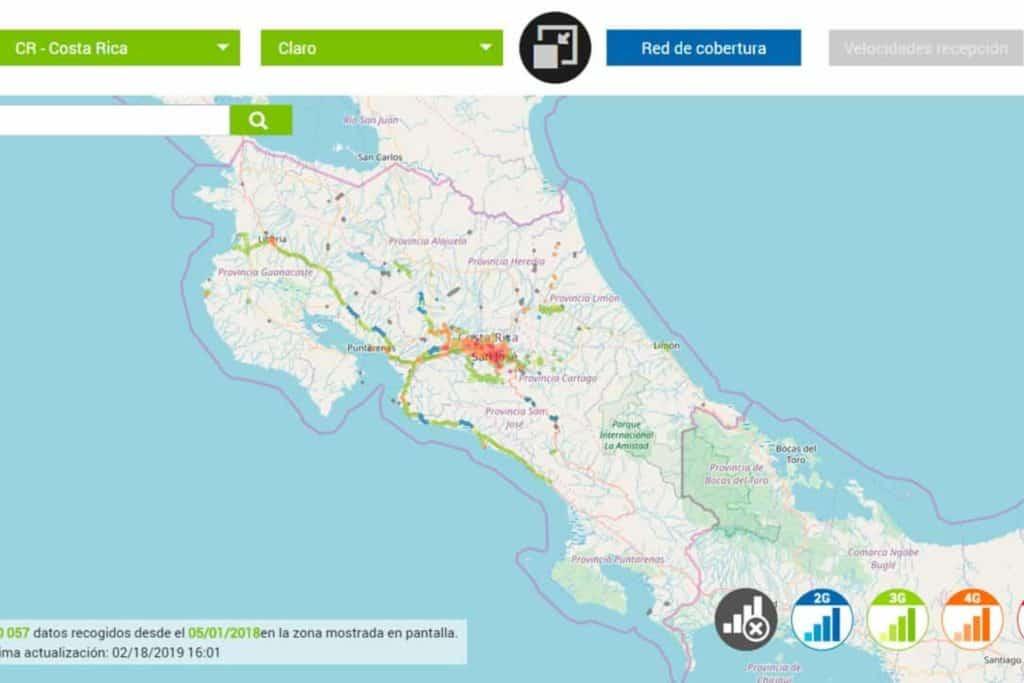 INternet Costa Rica von Claro