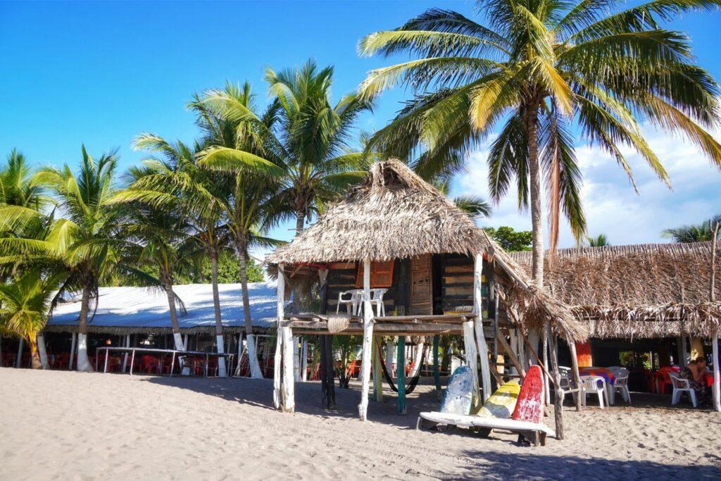 Chiringuito am Strand Playa Borrego
