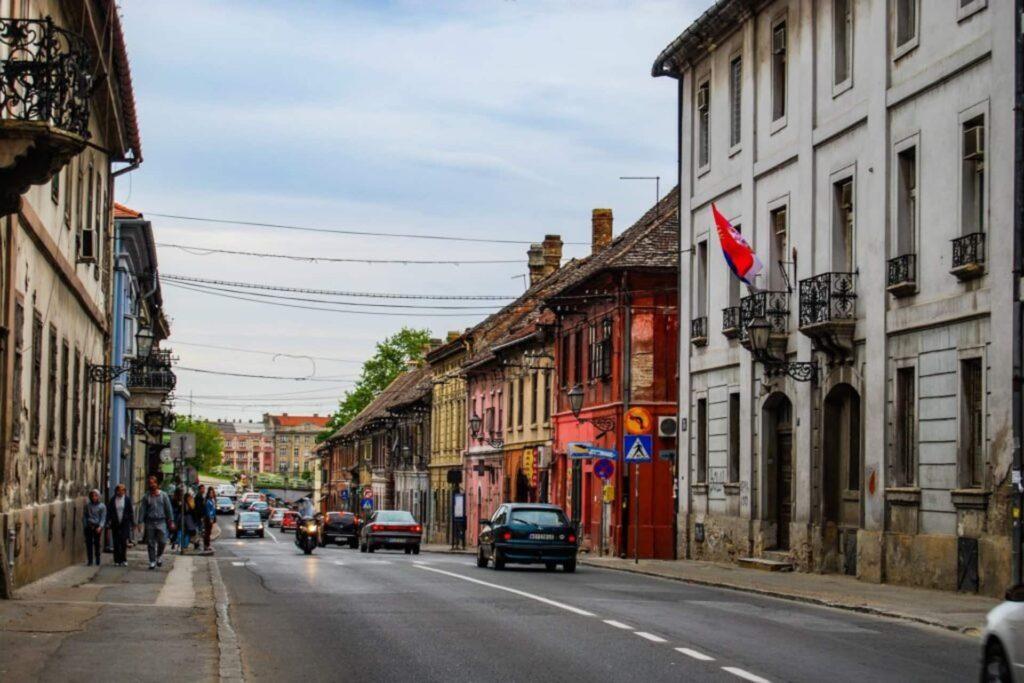 Besuch in Novi Sad in Serbien