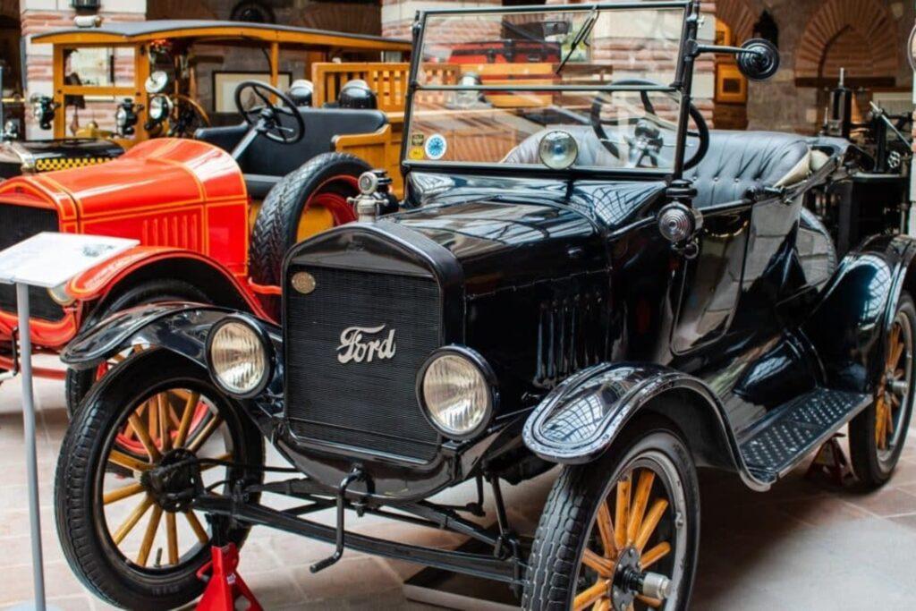 Museum mit Autos Türkei