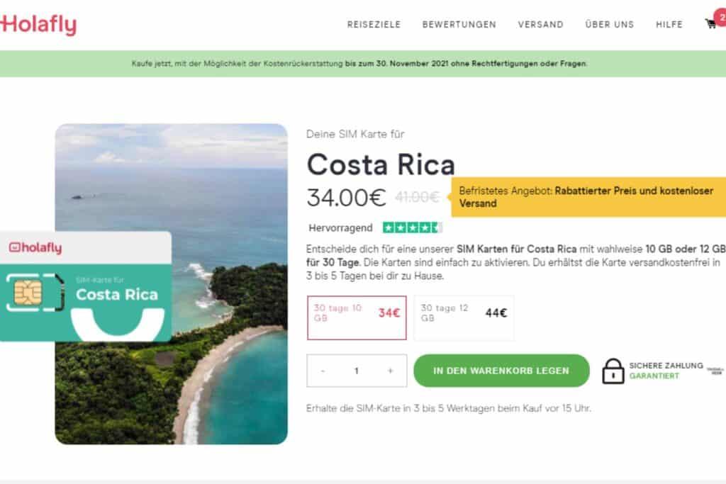 Costa Rica Holafly