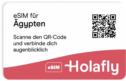 eSIM für Ägypten von Holafly