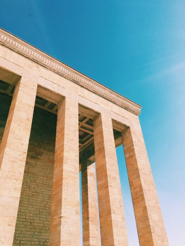 Ankara Gebäude Türkei