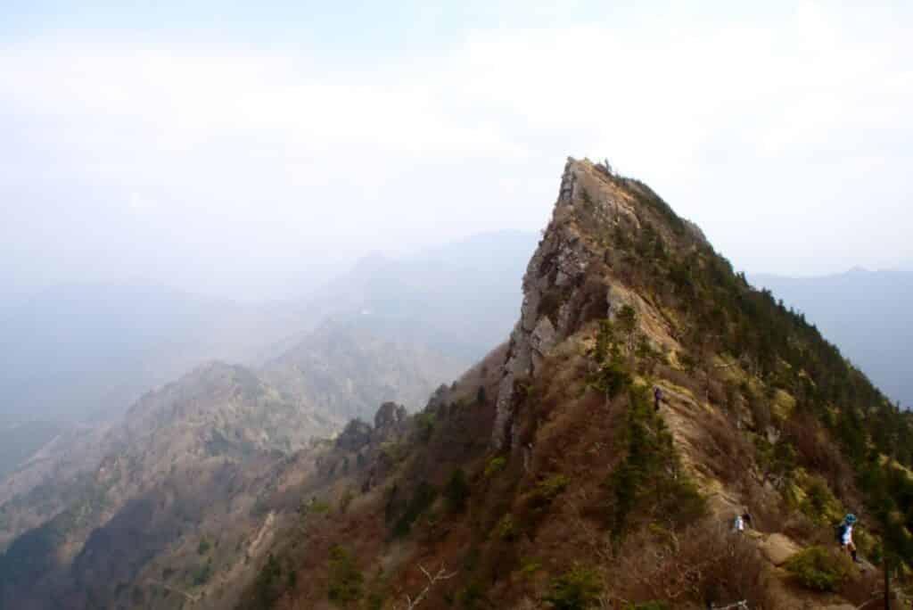 Ishizuchi Berg in Japan