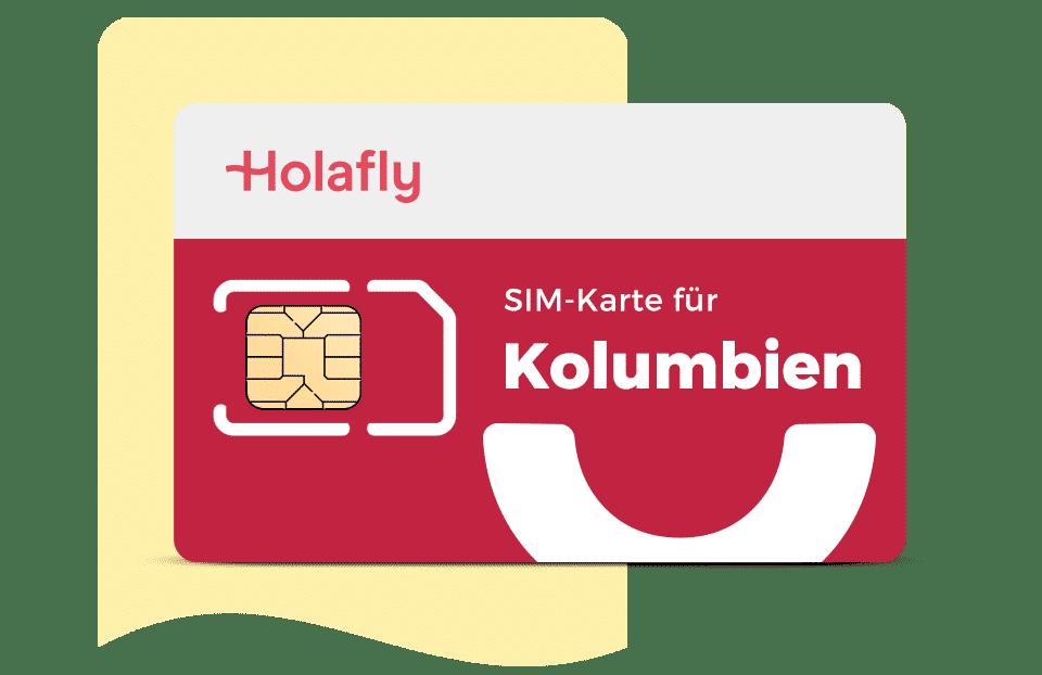SIM Karte Kolumbien von Hola fly