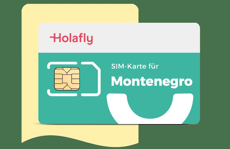 SIM Karte Montenegro von Holafly