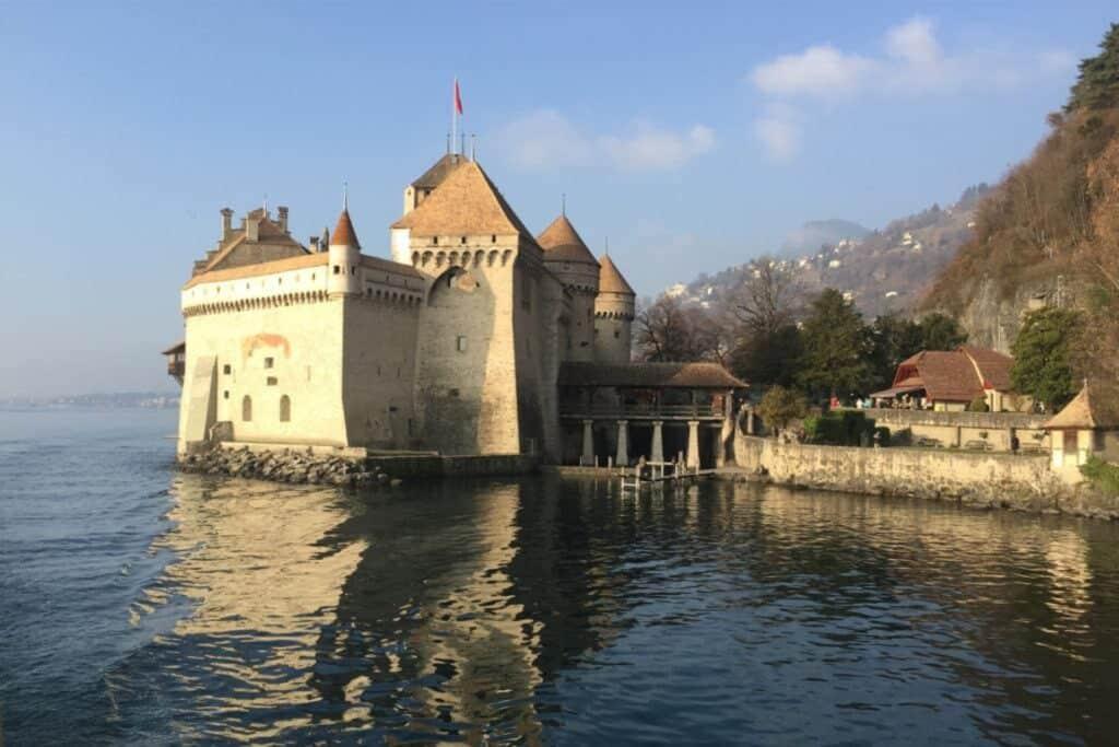 Schloss Chillon Sehenswürdigkeit in montreux Schweiz