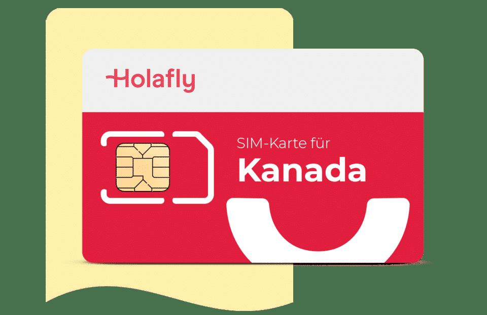 SIM Karte für Kanada von Holafly